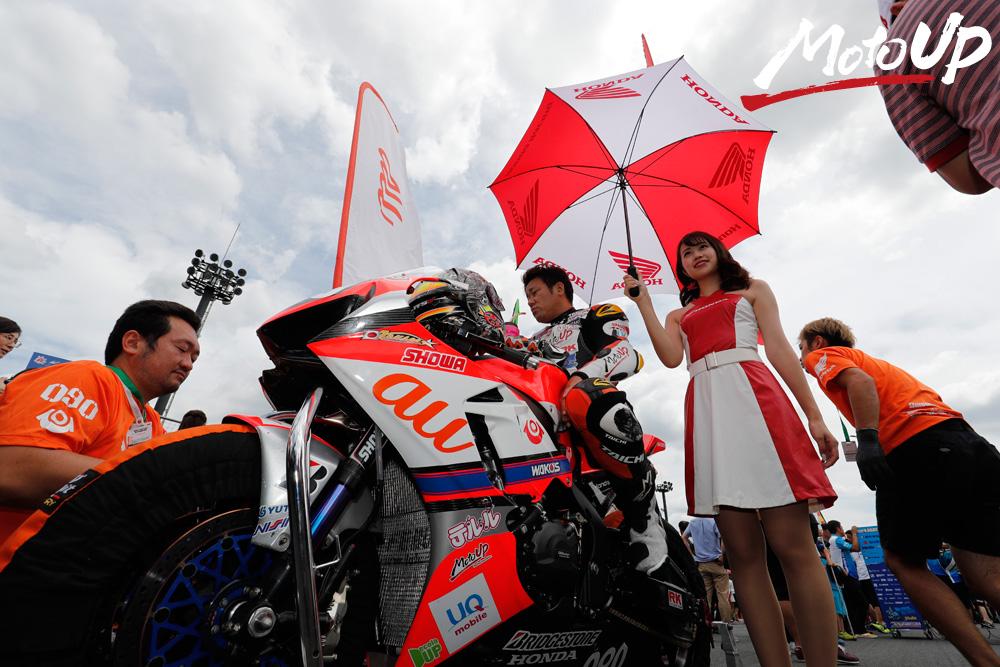 全日本ロードレース選手権シリーズ 第6戦 MOTEGI 2&4 RACE 決勝 8/19(日)REPORT