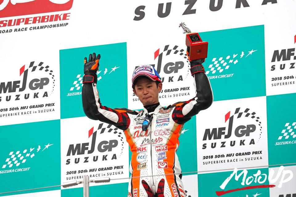 2018 MFJ全日本ロードレース選手権シリーズ 第9戦 MFJグランプリ スーパーバイクレース in 鈴鹿 決勝 11/4(日)REPORT