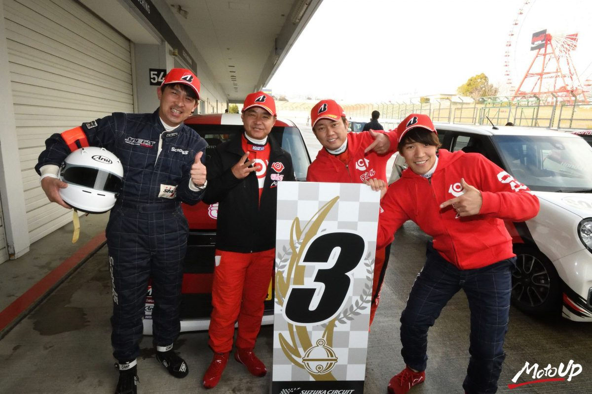 2019 N-ONE OWNER'S CUP 耐久レース REPORT テルル・N-ONE 3位表彰台を獲得!